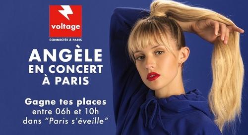 Gagnez vos places pour le concert d'Angà¨le à l'AccorHotels Arena !