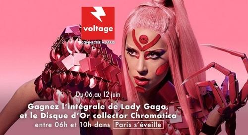 Gagnez l'intégrale de Lady Gaga et le disque d'or de son nouvel...