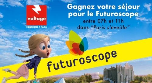 Gagnez votre séjour pour 4 personnes au Futuroscope !