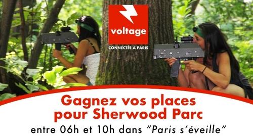 Gagnez vos 2 entrées pour Sherwood Parc !