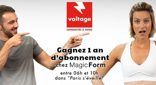 Gagnez un an d'abonnement chez Magic Form !