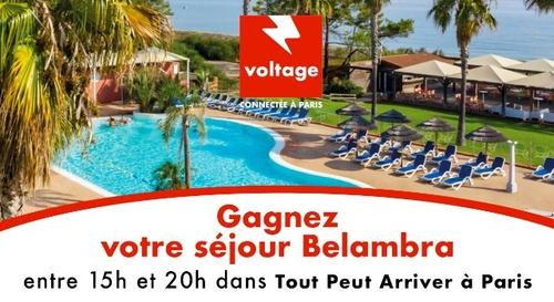 Gagnez votre séjour en club Belambra pour 4 personnes !