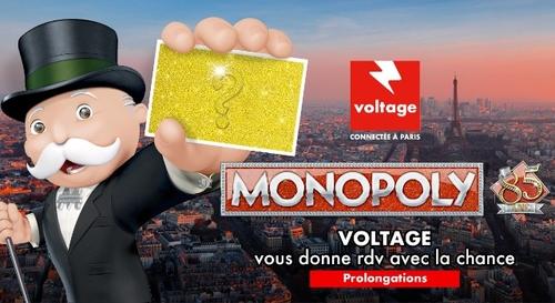 Monopoly Voltage : la chance est de retour !