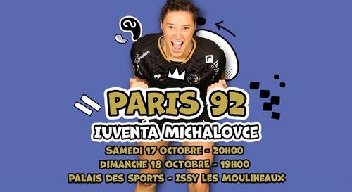 Handball : gagnez vos places pour le match Paris 92 - Iuventa...