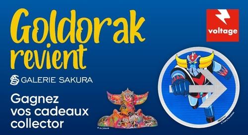 Goldorak : gagnez vos cadeaux collector