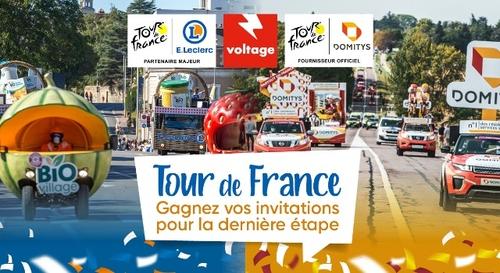 Tour de France : vivez l'arrivée de la course en VIP sur les...