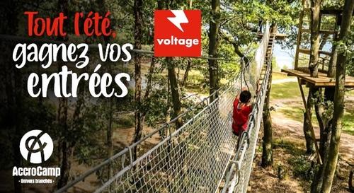 Gagnez vos entrées dans les centres AccroCamp d'Île-de-France