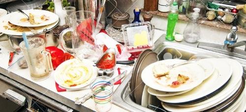 Faire sa vaisselle empêcherait de grossir !
