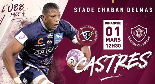 Rugby : UBB - Castres olympique
