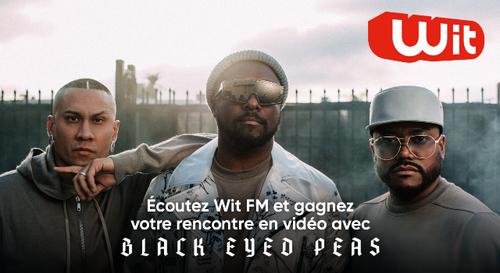 Gagnez votre rencontre avec les Black Eyed Peas