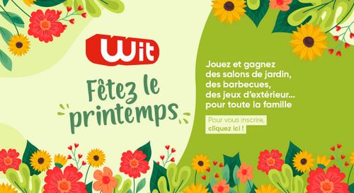 Wit FM fête le printemps avec plein de cadeaux !