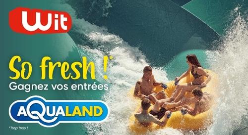 Gagnez vos 4 entrées à Aqualand