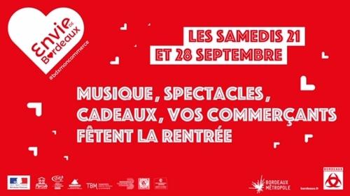 Bordeaux : les commerçants fêtent la rentrée