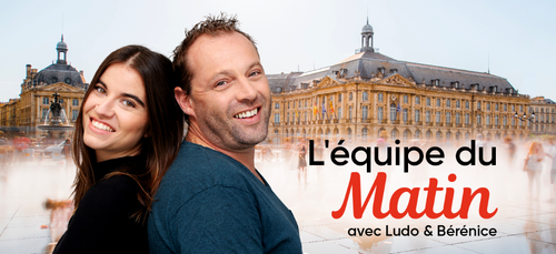 Contactez Ludo & Bérénice de l'Équipe du Matin !