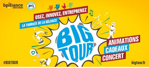 Big Tour Bpifrance : osez entreprendre dès cet été !